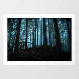 Fragments of time. Art Print