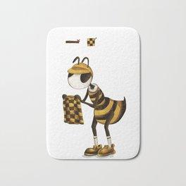 Chose bee Bath Mat