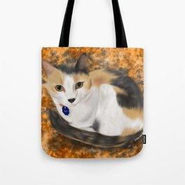 Sweet Calico Tote Bag