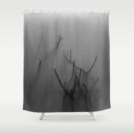 Hazy Woods Shower Curtain