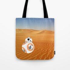 BB-8 on Jakku Tote Bag