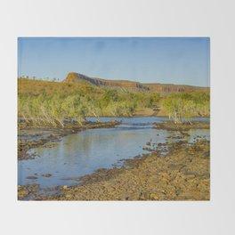 Pentecost River Crossing Throw Blanket