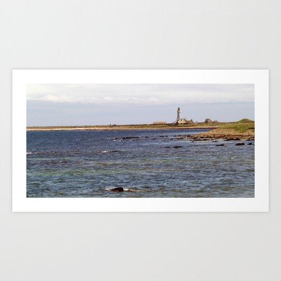 Start Point Lighthouse Art Print