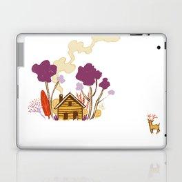 Cabin in Woods Laptop & iPad Skin
