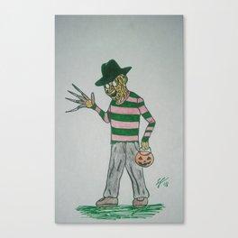 Freddy Trick-or-Treats Canvas Print