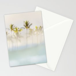 Peeking Hawaii Palms Stationery Cards