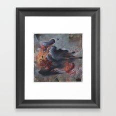 A Pigeon's Progress Framed Art Print