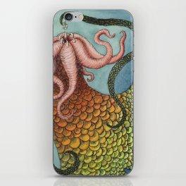 Sea wyrm iPhone Skin