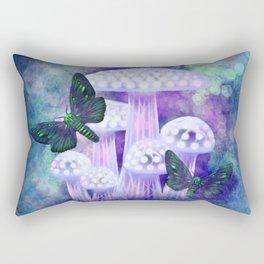 Midnight Moths Rectangular Pillow