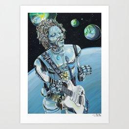 Floataciousgroovy Art Print