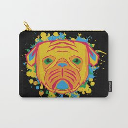 Colorfull Pug Life Carry-All Pouch