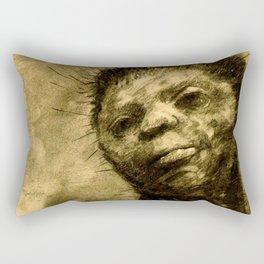 """Odilon Redon """"Cactus Man"""" Rectangular Pillow"""