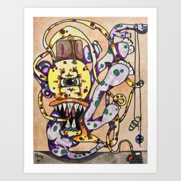 Over the Counter Parasite Art Print