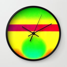 Composition 54 Wall Clock