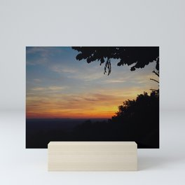 And on the Seventh Day He Rested Mini Art Print