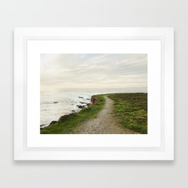 California Coast Trail Framed Art Print