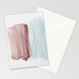 minimalism 4 Stationery Cards