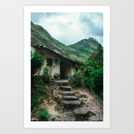 Mountain House (Colombia) Art Print