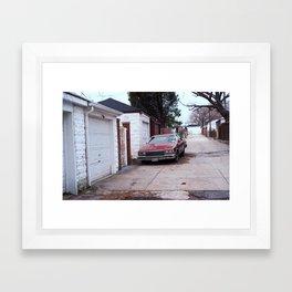 Brooklyn Back Alley 2001 Framed Art Print