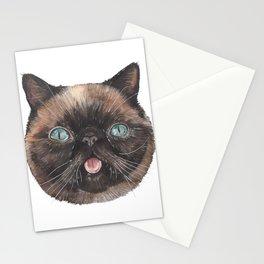 Der the Cat - artist Ellie Hoult Stationery Cards