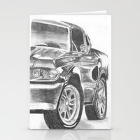 mustang Stationery Cards featuring Mustang by WNN Creations