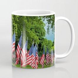 Flags Flying in Memoriam II Coffee Mug