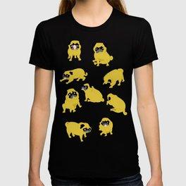 Good Vibes With Nasty The Pug T-shirt
