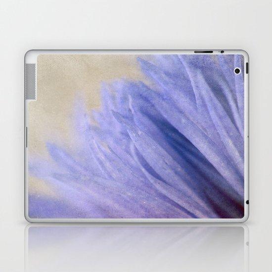 Cornflower Petals Laptop & iPad Skin