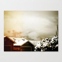 WinterSky #4 Canvas Print
