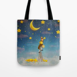 Reach for the stars  Tote Bag
