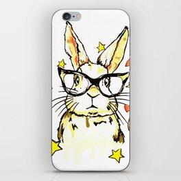 Geek Love Bunny iPhone Skin