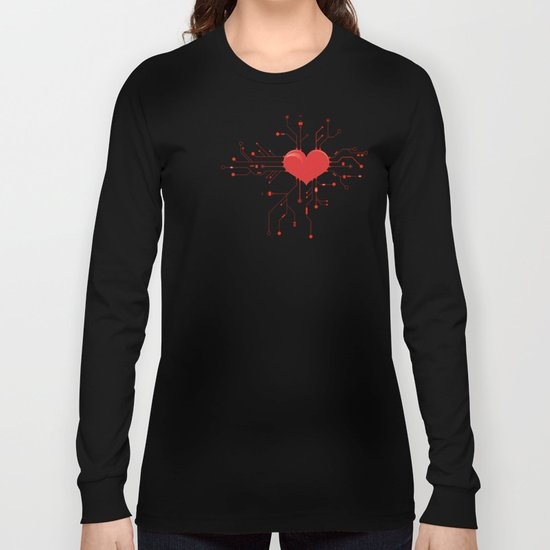 My Tech Heart Long Sleeve T-shirt