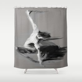 Dance Moves I Shower Curtain