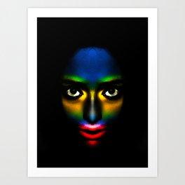 Afrocentric SWA Art Print
