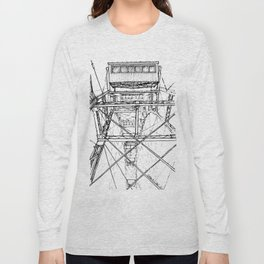 Ferris Wheel, Vienna Long Sleeve T-shirt