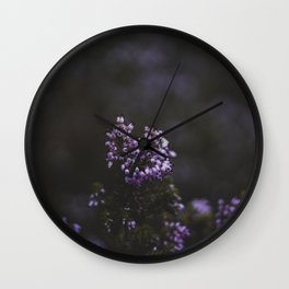 Flower Photography by Quentin Burbach Wall Clock