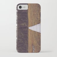 hiking iPhone & iPod Cases featuring Fall Hiking by Simon Laroche