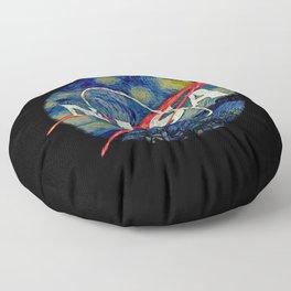 Starry Nasa Floor Pillow