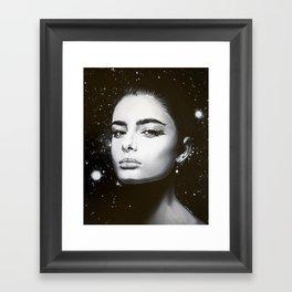 Celestial Lumina Framed Art Print