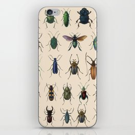Insects, flies, ants, bugs iPhone Skin