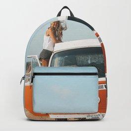 Combi van girl Backpack