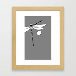 Libelle Framed Art Print