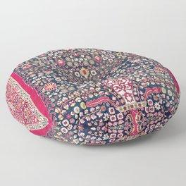 Kerman Millefleurs Persian Rug Print Floor Pillow