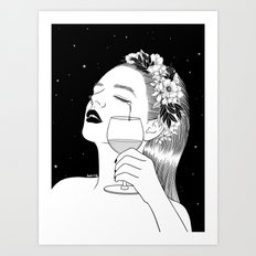 Cheers for tears Art Print