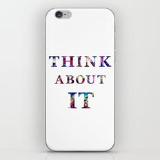 Space: Think About It iPhone Skin