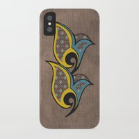 persian iPhone & iPod Cases featuring Persian Bird by Katayoon Photography