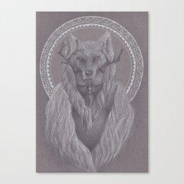 The Shaman Bastard Canvas Print