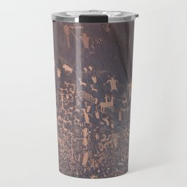 Newspaper Rock Travel Mug