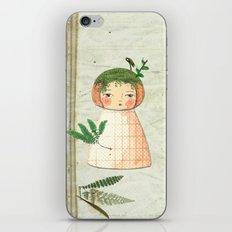 Herbs paperdolls iPhone & iPod Skin
