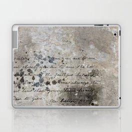 LETTER Laptop & iPad Skin